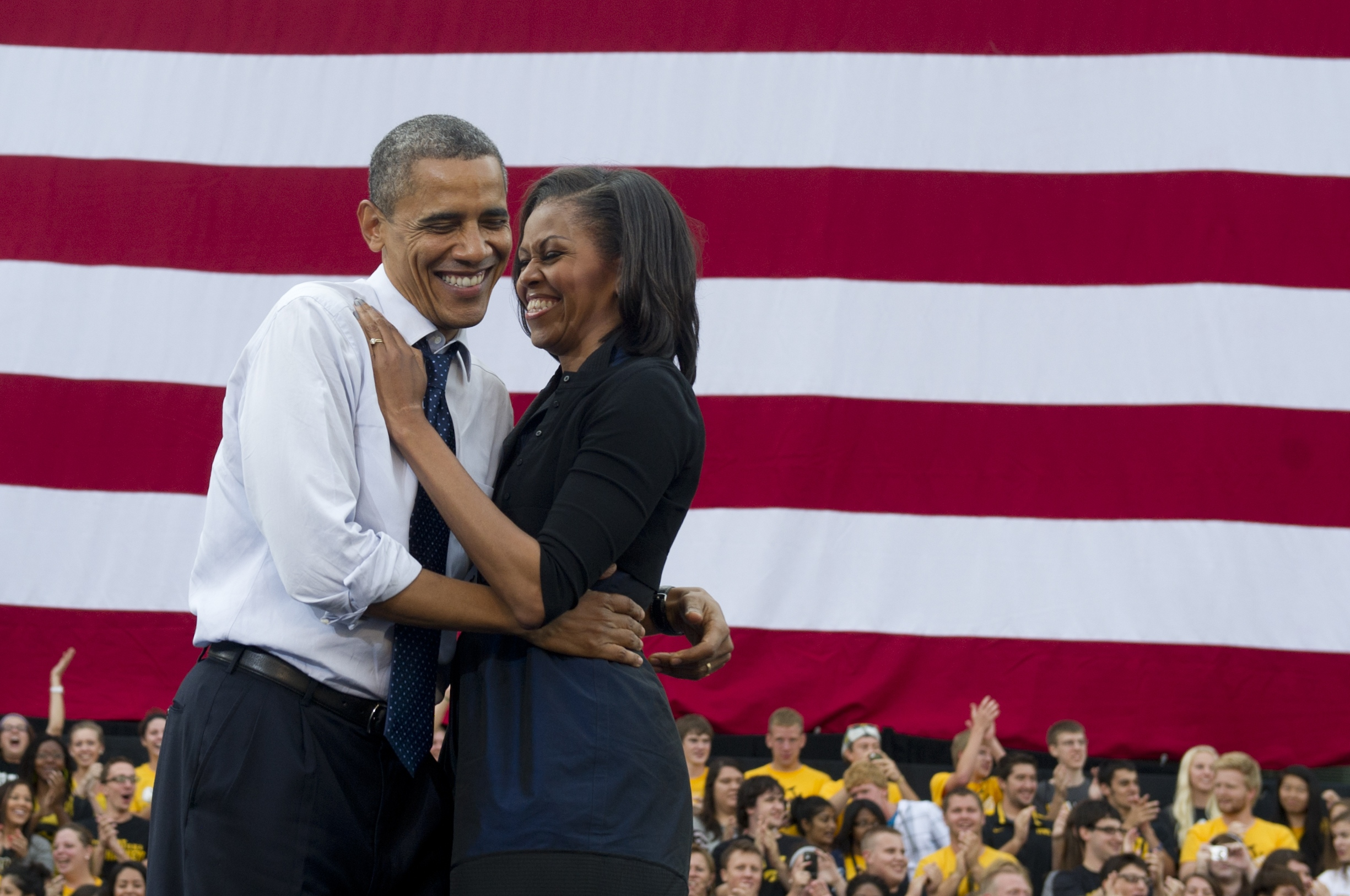 """He also created a college tax credit that lets families save up to $10,000 over four years to help send their kids to college. Last year, that credit helped more than nine million college students and their families pay for tuition.  And to help young people who are financing their education with loans, Barack fought to keep federal student loan interest rates from doubling this past Summer.   Barack and I know from our own experiences just how important a good education is — and how hard it can be to pay for it. And I'm really proud of how hard he's fighting to put affordable education back within reach for young people in our country."" It's not too late! You can ask the first lady a question, too. We are still taking questions for this series! There are three ways to participate: 1. You can leave your question in the comments section here on PopSugar.com 2. You can tweet using the hashtag #POPSUGAR2012 3. You can leave your question in the tab on our PopSugar Facebook page We're so excited to hear what's on your mind and to speak to First Lady Michelle Obama together."