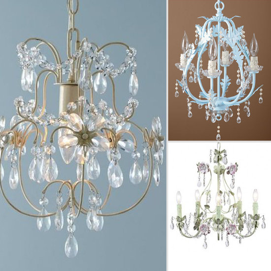 Mini Chandeliers For a Girl s Room