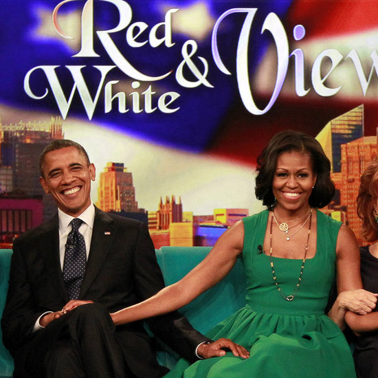 Barack and Michelle Obama Talk About First Kiss on The View