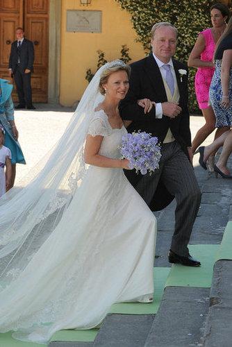 Princess Maria Carolina and Albert Brenninkmeijer The Bride: Princess Maria Carolina of Bourbon-Parma. The Groom: Albert Brenninkmeijer. When: June 16, 2012. Where: Florence, Italy.