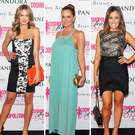 Cosmopolitan Fun Fearless Female Awards 2012 Celebrity Pictures: Zoe Foster, Jesinta Campbell, Ruby Rose