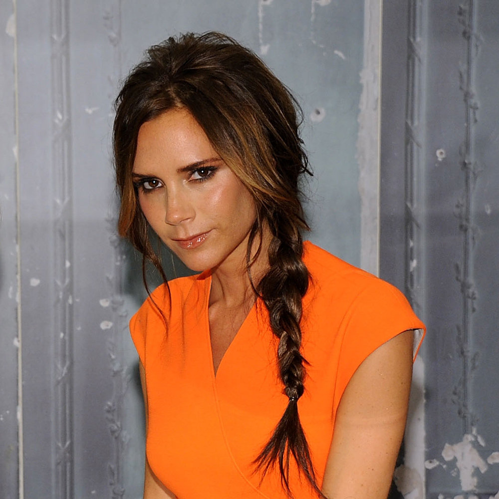 We loved seeing Victoria doing something different with her hair. This cute plait was youthful, pretty and bang-on trend.