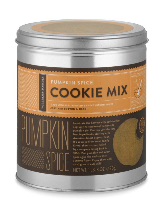 Williams-Sonoma Pumpkin Spice Cookie Mix