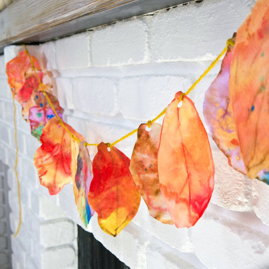 Coffee Filter Fall Leaves Art Project For Kids