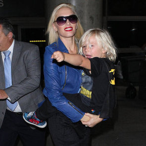 Gwen Stefani Carrying Zuma Rossdale at LAX   Pictures