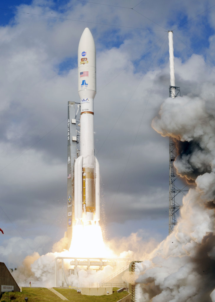 Curiosity Rover Launches Into Space