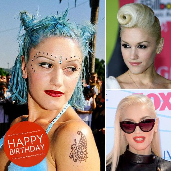 23 Years of Gwen Stefani's Beauty Evolution