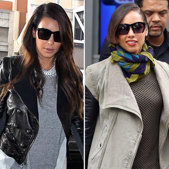 Kim Kardashian's Square Sunglasses