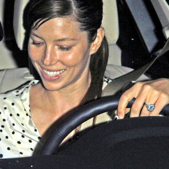 Jessica Biel Shows Her Engagement Ring in LA | Pictures