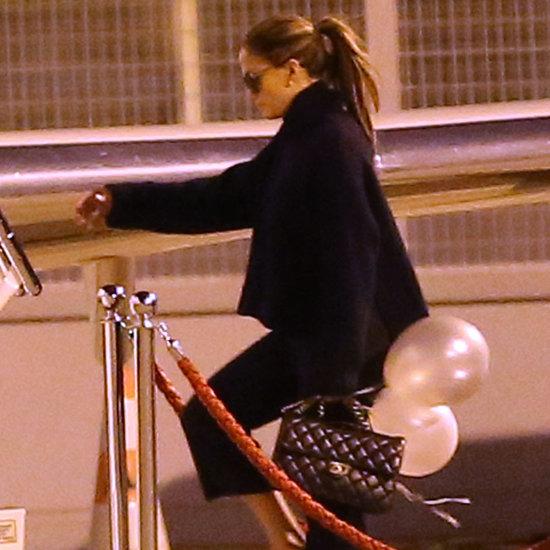Jennifer Lopez Leaves Paris Fashion Week | Pictures