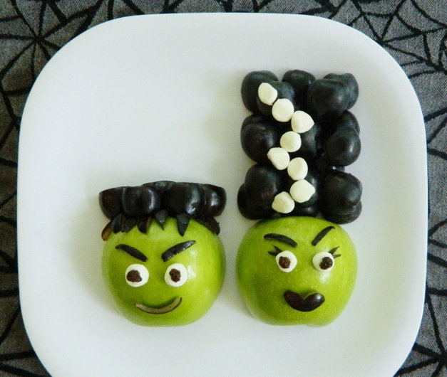 Frankenstein Fruit Snacks