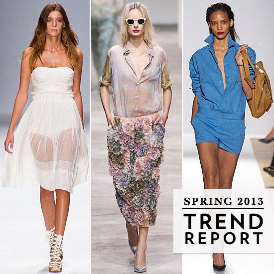 Paris Fashion Week Spring 2013 Trends
