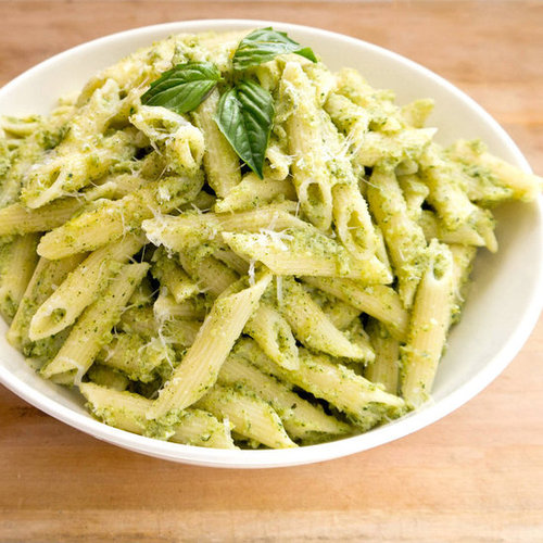 Nut-Free Broccoli Pesto Pasta | POPSUGAR Moms