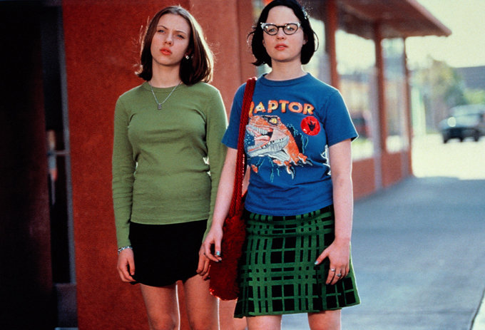 Enid Thora Birch Ghost World Find this Pin and more on Red Ladies by Michael Murphy. Thora Birch - Ghost world, one of my favorite movies:) Thora Birch - Ghost world: reminds me of high theotherqi.cf everyone and their mom said I looked like theotherqi.cf have had blue hair when I had the chance:/ Thora Birch - Ghost World.