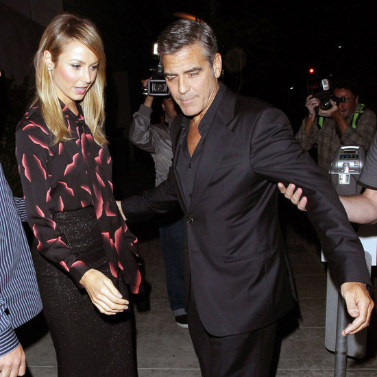 George Clooney and Stacy Keibler Double Date Pictures