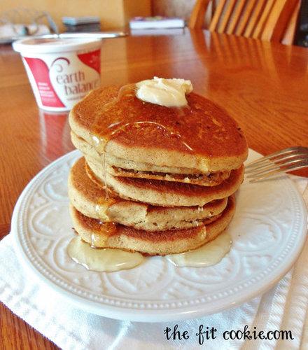 Gluten-Free Gingerbread Pancakes