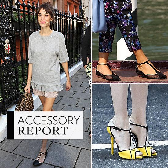 T-Strap Shoe Trend   Fall 2012