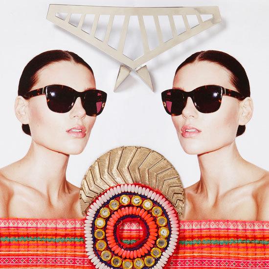 Flip Through Sass & Bide's Summer 2012 LadySaint Eyewear Look Book!
