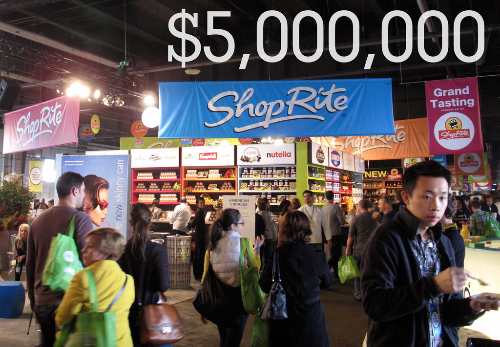 $5,000,000: The amount the Festival has raised to date for charity.