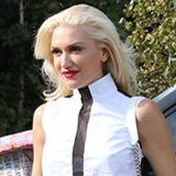 Dress Up Your Boyfriend Jeans With a Peek-A-Boo Top Like Gwen Stefani