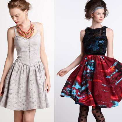 Anthropologie Collaborations With Timo Weiland and Tracy Reese