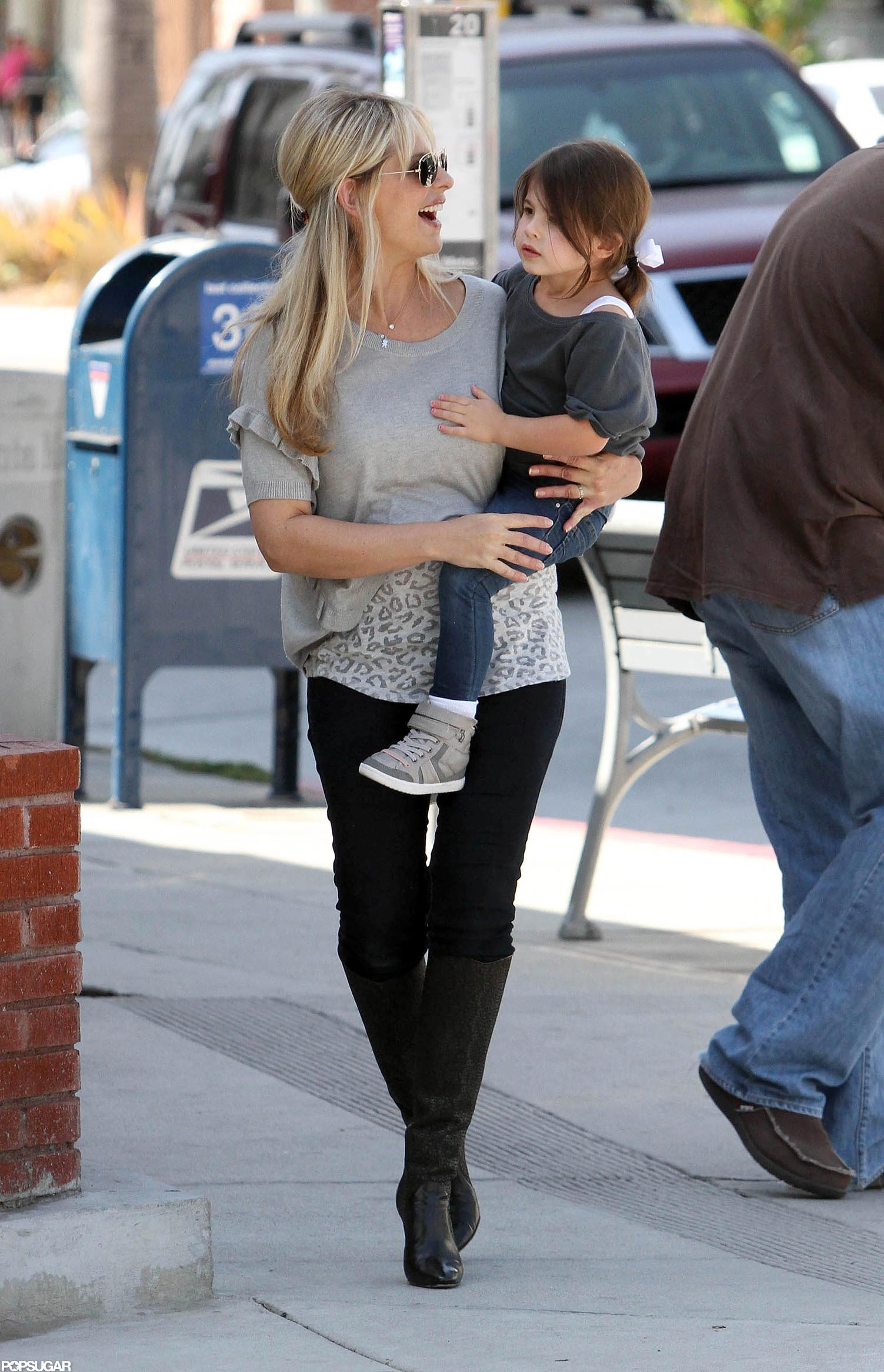 Sarah Michelle Gellar stepped out with Charlotte after giving birth to her son.