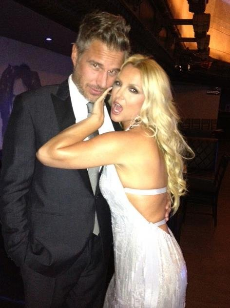 Britney Spears and her fiancé Jason Trawick attended the City of Hope Charity Gala. Source: Facebook user Britney Spears
