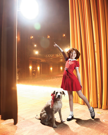 Ever wanted to be a Broadway star? Now's your chance with this Annie: The Musical Walk-On Role ($30,000). Your role? To help Annie and her dog teach the world that perseverance and unwavering hope can change lives — lights, camera, action!