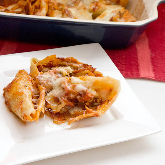 Kid-Friendly Pizza Stuffed Shells Recipe
