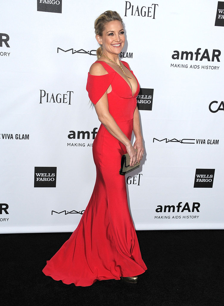 Kate Hudson stepped out in LA for the amfAR 3rd Annual Inspiration Gala.