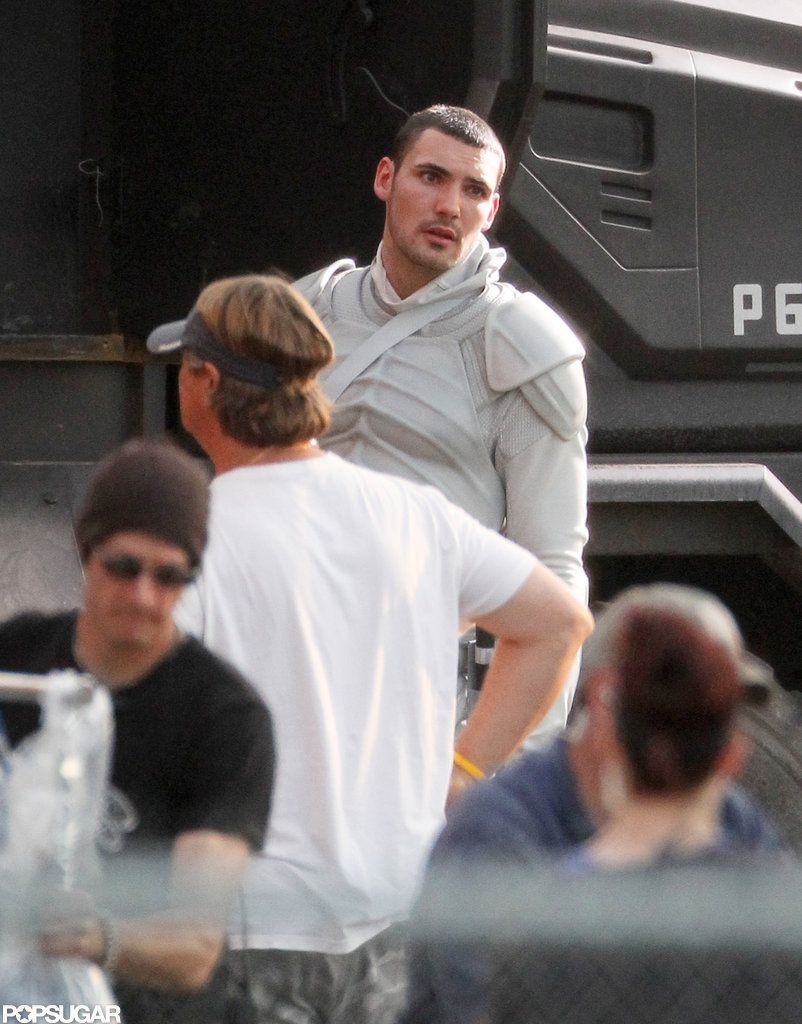 Cast members filmed The Hunger Games: Catching Fire in Atlanta.
