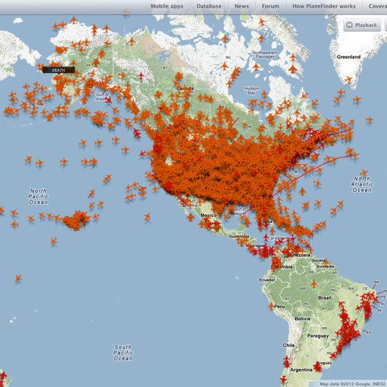Flight Tracking Website