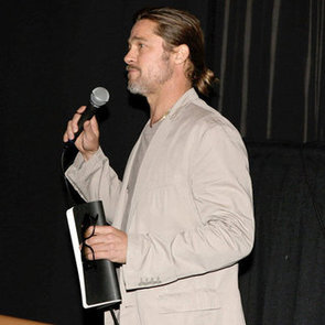 Brad Pitt Promotes The House I Live In And Talks Drugs