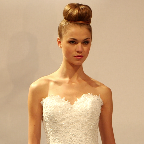 See Dennis Basso's Spring 2013 Bridal Fashion Week Presentation at Kleinfeld Bridal in New York