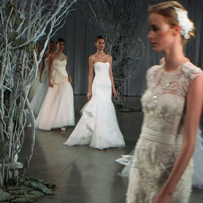 See the Marchesa Spring 2013 Bridal Fashion Week Presentation in New York