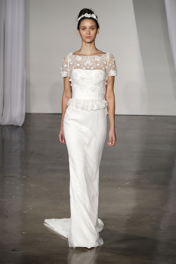 The Most Stylish Wedding Dresses : The most gorgeous fall wedding dresses popsugar fashion