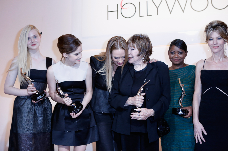 Elle Fanning Emma Watson Elle Fanning Emma Watson