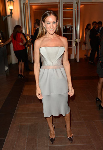 Sarah Jessica Parker wore a Calvin Klein dress at the Elle Women in Hollywood Awards in LA.