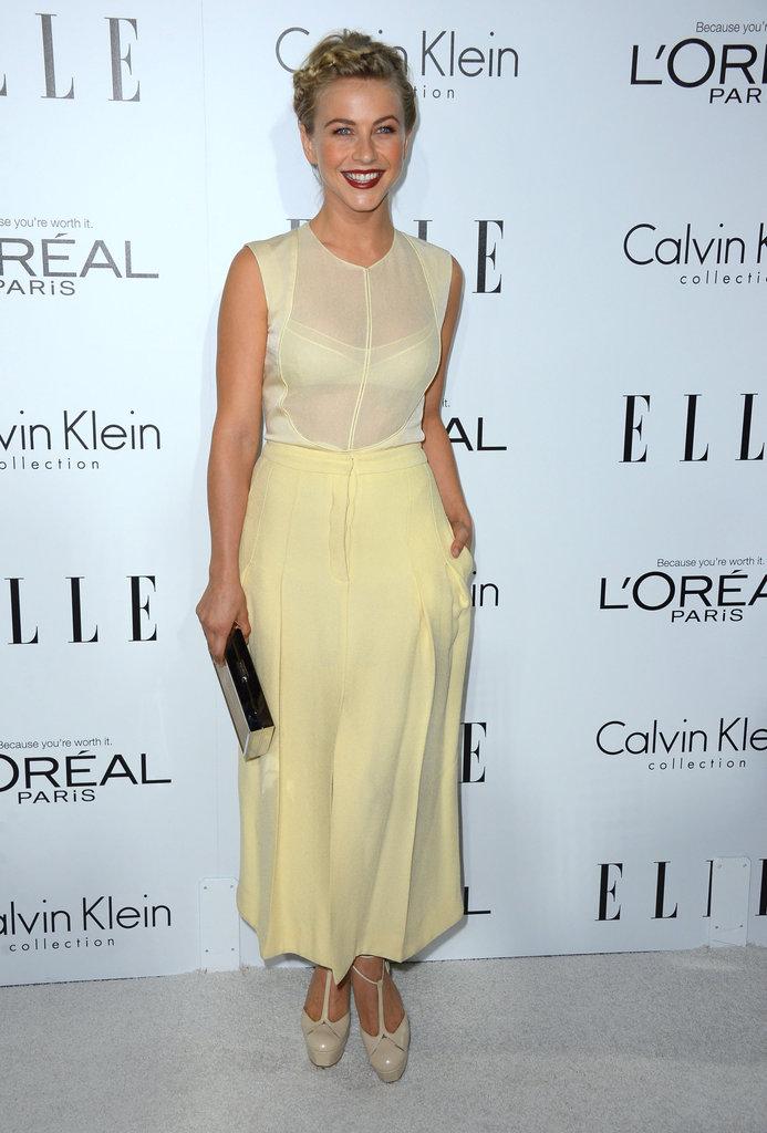 Julianne Hough attended the Elle Women in Hollywood Awards in LA.