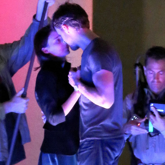Ryan Gosling and Rooney Mara Dance on Set