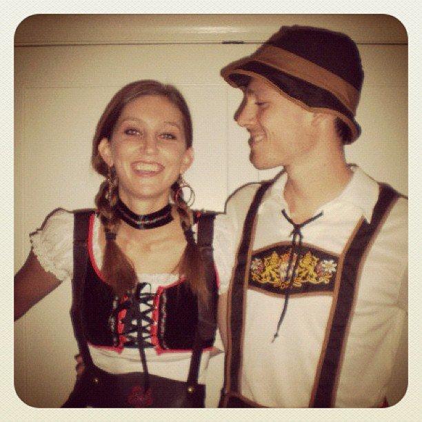 Oktoberfest Couple