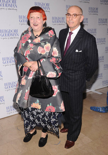 Lynn Yaeger and Bernard Cohen