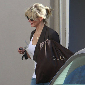 Cameron Diaz Shops at Gucci in Beverly Hills | Pictures