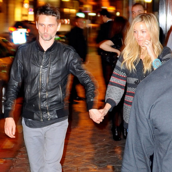 Kate Hudson and Matthew Bellamy in Paris | Pictures