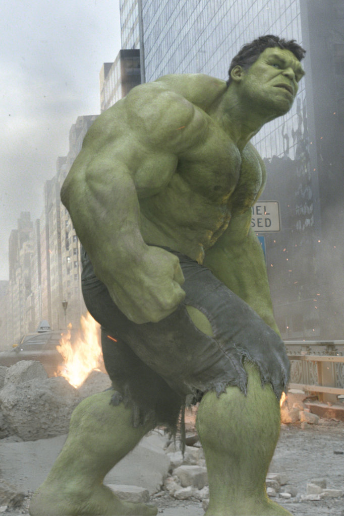 The Hulk From The Aven...
