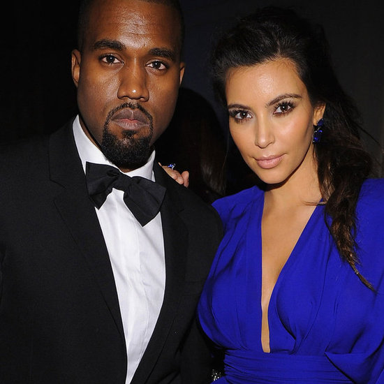 Kim Kardashian and Kanye West at NYC's Angel Ball