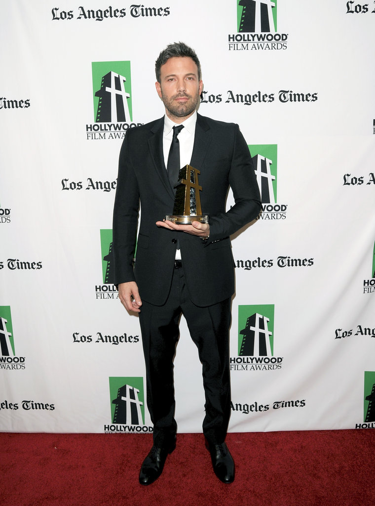 Bradley, Ben and Marion Win Big and Catch Up at the Hollywood Film Awards