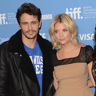 James Franco Reportedly Dating Spring Breakers Co-star Ashley Benson