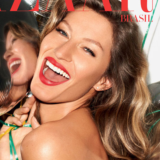 Gisele Bundchen on Harper's Bazaar Brazil November 2012