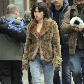 Scarlett Johansson Filming Under the Skin | Pictures